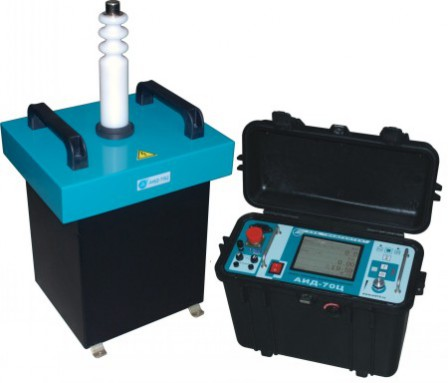 Испытательная установка высоковольтной изоляции АИД-70Ц