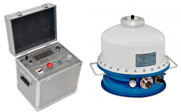 Испытательная установка высоковольтной изоляции УИГ-М-15 (УИВ-М-15)