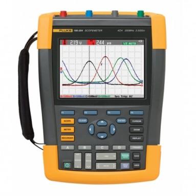 Осциллограф-мультиметр с цветным дисплеем Fluke 190-204