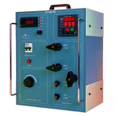 Устройство прогрузки первичным синусоидальным током до 2,5кА LET-400-RD