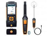 Testo 440 Комплект уровня комфорта с Bluetooth зондом СО2, зондом турбулентности и кейсом
