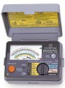 Kyoritsu KEW Model 6018 - Многофункциональный измеритель, 3 функции в одном приборе: измерение сопротивления изоляции, сопротивления заземления, переменного напряжения