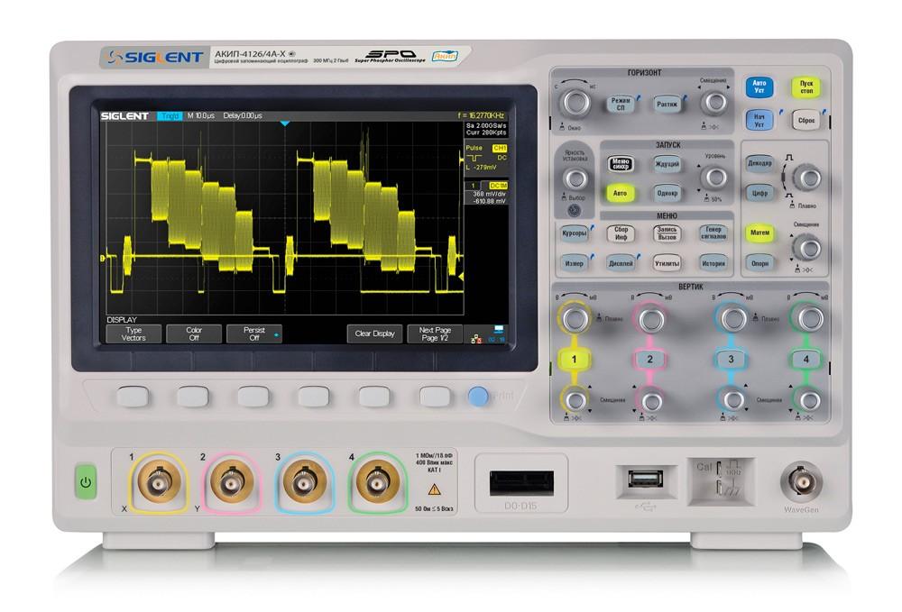 Осциллограф АКИП-4126Е – меньше да лучше! Новая серия осциллографов АКИП-4126Е развитие хороших традиций