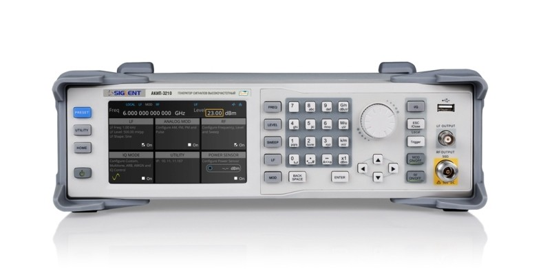 ВЧ-генераторы АКИП до 6 ГГц. Большие возможности по адекватной цене