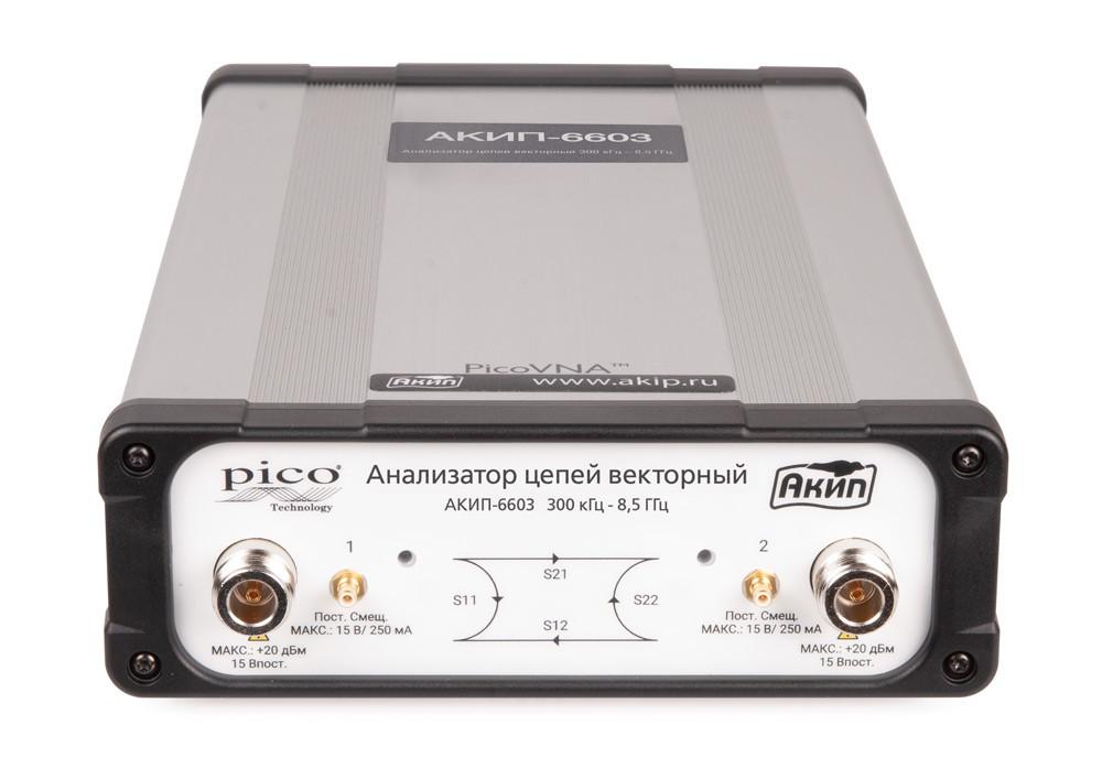 Векторный анализатор цепей АКИП-6603. Новая модель в серии компактных анализаторов цепей