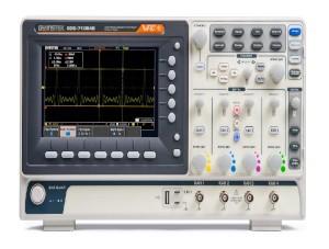 Ранее приобретенные осциллографы GDS-71000B получили возможность синхронизации и декодирования. Обновление ПО и прошивок для осциллографов GW Instek