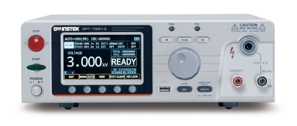 Новые 8-канальные тестеры электробезопасности GW Instek для быстрых и надежных испытаний