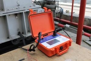 Испытания миллиомметра МИКО-9 на Иркутской ГЭС