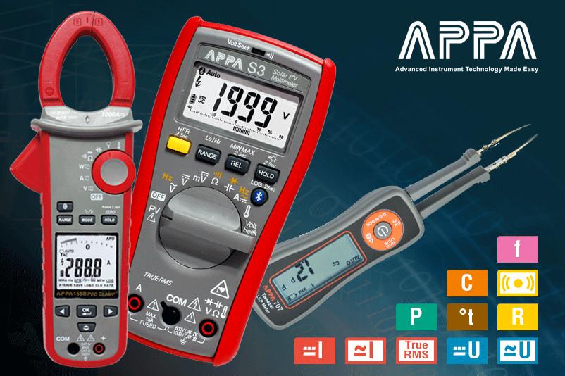 APPA – профессиональные портативные измерительные приборы