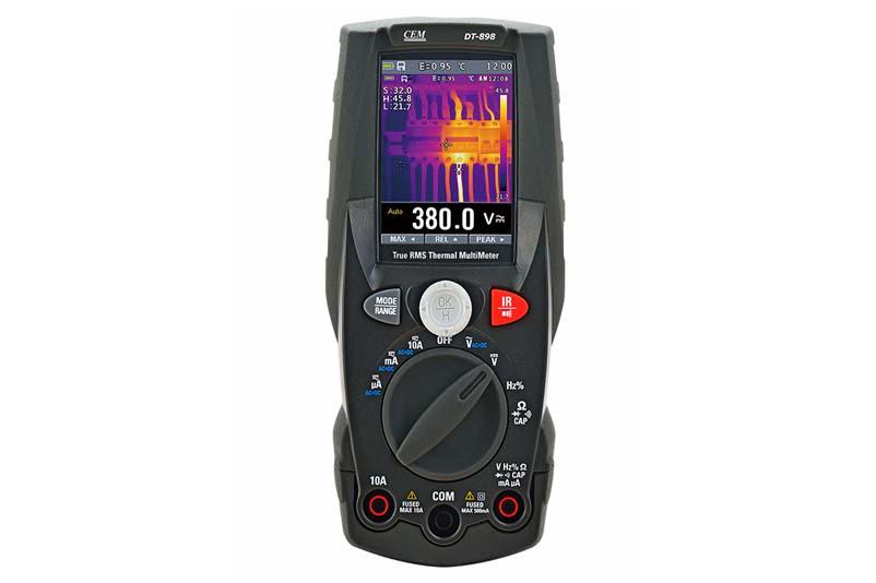 Скидка 5% на DT-898 Мультиметр TRMS с встроенным тепловизором!