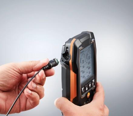 Цифровой манометрический коллектор Testo 550s Комплект 1 с кейсом