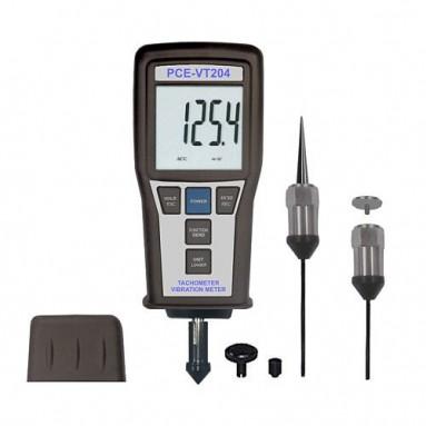 Профессиональный комбинированный виброметр и тахометр PCE-VT 204