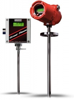 Расходомер газа STEEL-MASS 640S