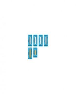 Самоклеющиеся термо-индикаторы (10 шт) 161-204°С