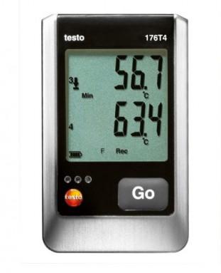 Логгер данных температуры Testo 176-T4 (0572 1764)