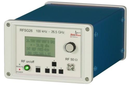 Аналоговый генератор сигналов RFSG26