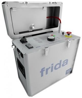 Портативная установка для высоковольтных испытаний синусоидальным напряжением сверхнизкой частоты Umax 34кВ, 0,1Гц FRIDA