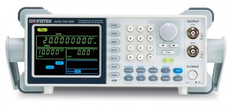 Генератор сигналов специальной формы AFG-72025