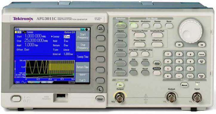 Генератор сигналов AFG3101C