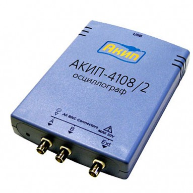 USB-осциллограф АКИП-4108/2G