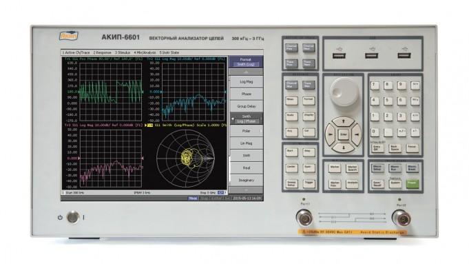 Анализатор цепей АКИП-6601 - цветной дисплей