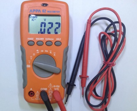 мультиметр appa 62 с проводами