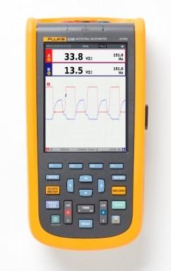 Fluke-123B/EU Промышленный портативный осциллограф ScopeMeter (20 МГц)