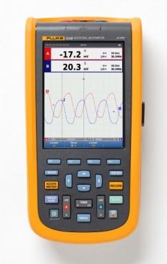 Fluke-124B/EU Промышленный портативный осциллограф ScopeMeter (40 МГц)