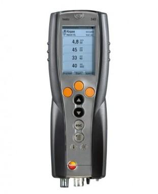 Testo 340 (O2, CO2 расч., tгаза, лямбда, КПД ) (0632 3400)