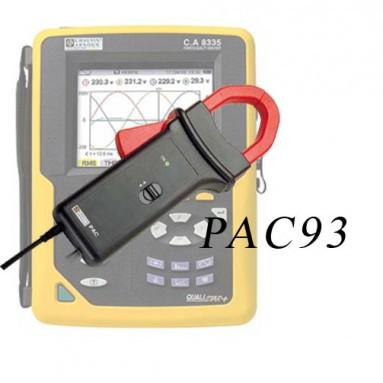 Анализатор качества электроэнергии CA 8335 + клещи PAC93