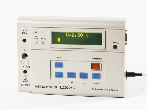 ЦС0202-2 - данные на дисплее
