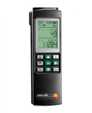 Прибор измерения в системах вентиляции и кондиционирования воздуха Testo 445 (0560 4450)