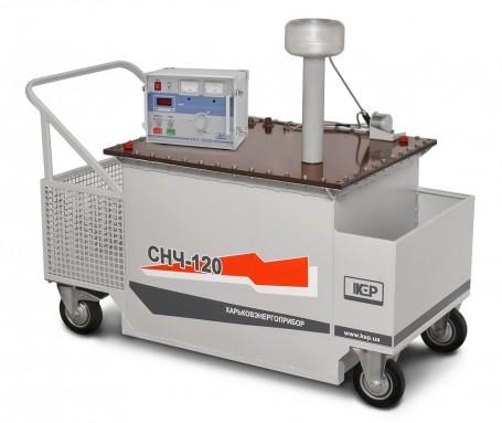 Установка для испытания СПЭ-кабелй СНЧ-120КП