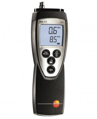 Дифференциальный манометр от 0 до 2 гПа, Testo 512