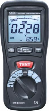 Мегаомметр DT-5505 - в черном корпусе