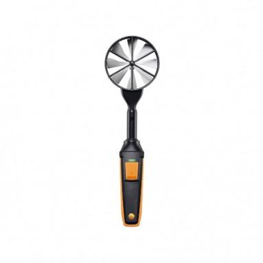 Высокоточный зонд-крыльчатка (Ø 100 мм) с Bluetooth, вкл. сенсор температуры
