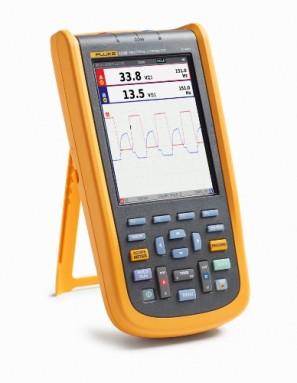 Fluke-123B/INT/S Промышленный портативный осциллограф ScopeMeter + SCC (20 МГц)