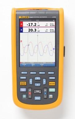 Fluke-124B/EU/S Промышленный портативный осциллограф ScopeMeter + SCC (40 МГц)