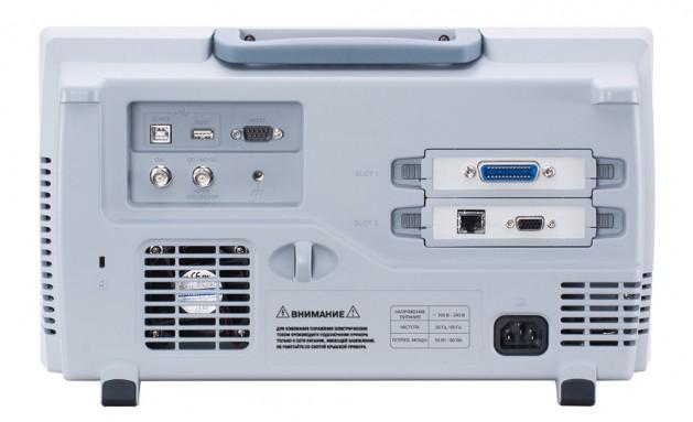 Осциллограф цифровой GDS-72072 - вид сзади