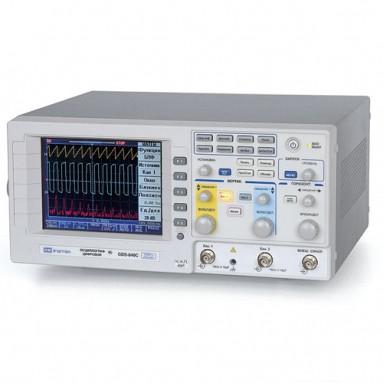 Осциллограф цифровой запоминающий 2-канальный GDS-820C