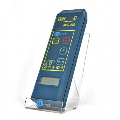 """Измеритель параметров цепей """"фаза-нуль"""" и """"фаза-фаза"""" электросетей MZC-200"""