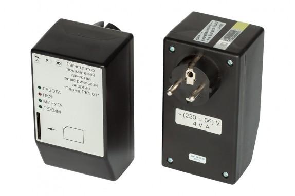 Однофазный регистратор показателей качества электроэнергии ПАРМА РК 1.01