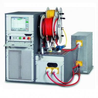 Система испытания синусоидальным напряжением сверхнизкой частоты Umax 80кВ, 0,1Гц, диагностики тангенса угла диэлектрических потерь TD и частичных разрядов PD на кабельных линиях PHG-80TD/PD