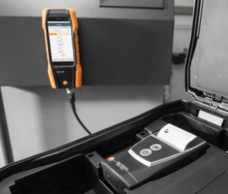 Анализатор дымовых газов Testo 300 LL, вкл. сенсор O2, сенсор СО c H2-компенсацией до 8 000 ppm с расширением диапазона до 30 000 ppm