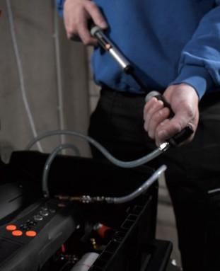 Testo 324 Прибор измерения давления