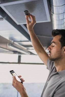Измеряем температуру на вентиляционных решетках
