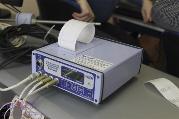 Прибор ПКВ/М6Н выведение данных на чеке