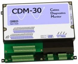 CDM-30 - система мониторинга состояния и диагностики дефектов изо-ляции 30 кабельных линий