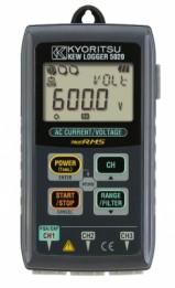 Цифровой регистратор тока и напряжения KEW 5020 с кабелем KEW 8309 без клещевых адаптеров