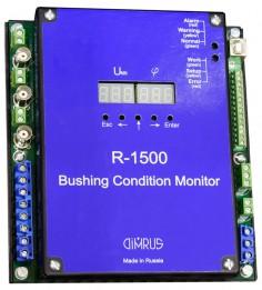 R 1500 – система для мониторинга состояния изоляции 3 высоковольт-ных вводов трансформатора, маслонаполненных или с твердой изоля-цией